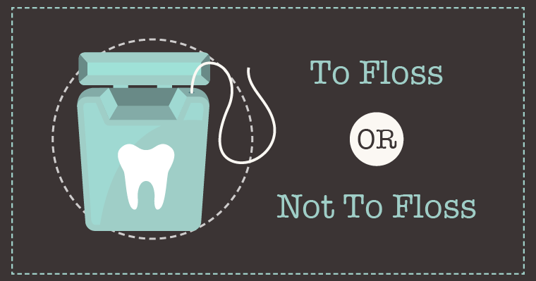 To floss or not to floss? The importance of flossing has recently been questioned.