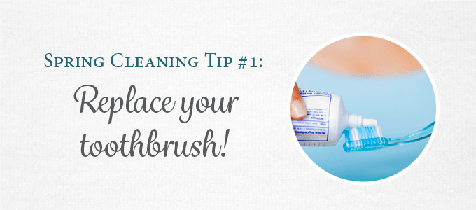Replace your toothbrush to keep your dental health up