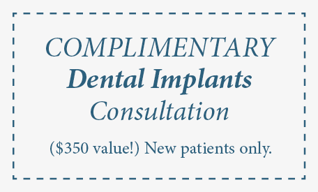 Complimentary Consultation for dental implants edmonds wa