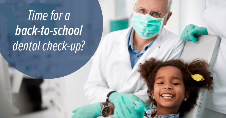 It almost time to go back-to-school. Have you had your pre-school dental check-up?