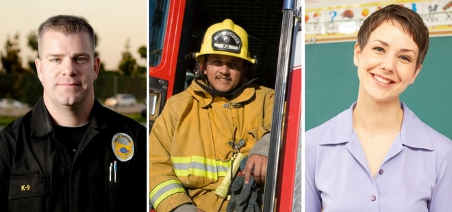 We want to help our community teachers, firefighters, and our police department smile